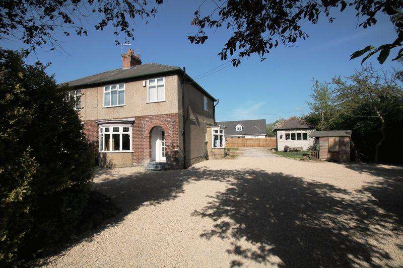 3 Bedrooms Semi Detached House for sale in Thirsk Road, Yarm, TS15 9HD