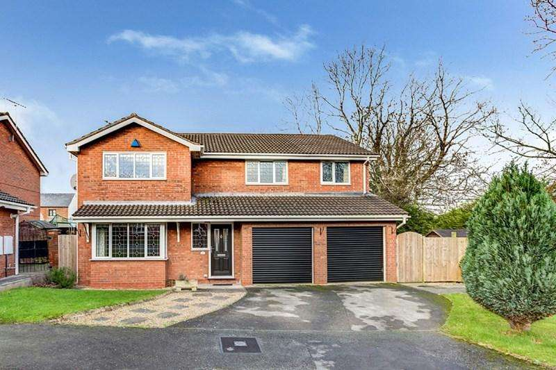 5 Bedrooms Detached House for sale in Wolstanholme Close, Congleton