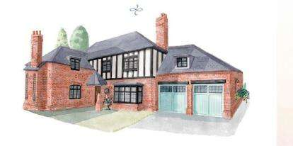5 Bedrooms Detached House for sale in Kingshurst, 1 Kingshurst Gardens, Bretforton Road, Worcestershire