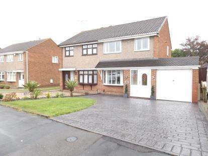 3 Bedrooms Semi Detached House for sale in Kewstoke Road, Willenhall, West Midlands