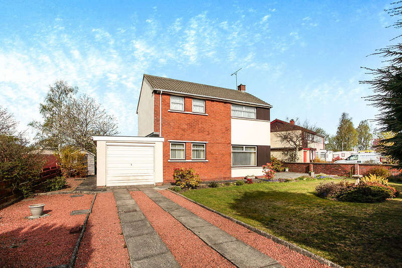 4 Bedrooms Detached House for sale in Martinton Road, Heathhall, Dumfries, DG1