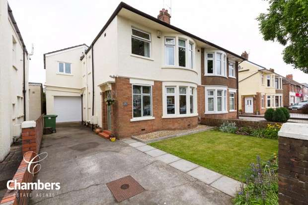 4 Bedrooms Semi Detached House for sale in St. Isan Road, Heath, Cardiff, CF14