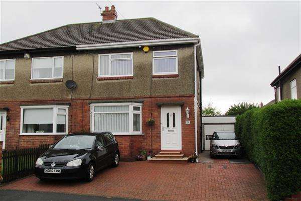 3 Bedrooms Semi Detached House for sale in Western Avenue, Newcastle upon Tyne