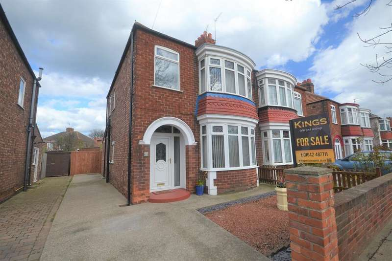 3 Bedrooms Semi Detached House for sale in Chester Road, Redcar TS10