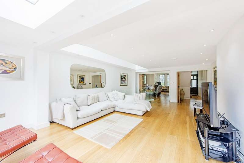 5 Bedrooms Terraced House for sale in Sisters Avenue, SW11