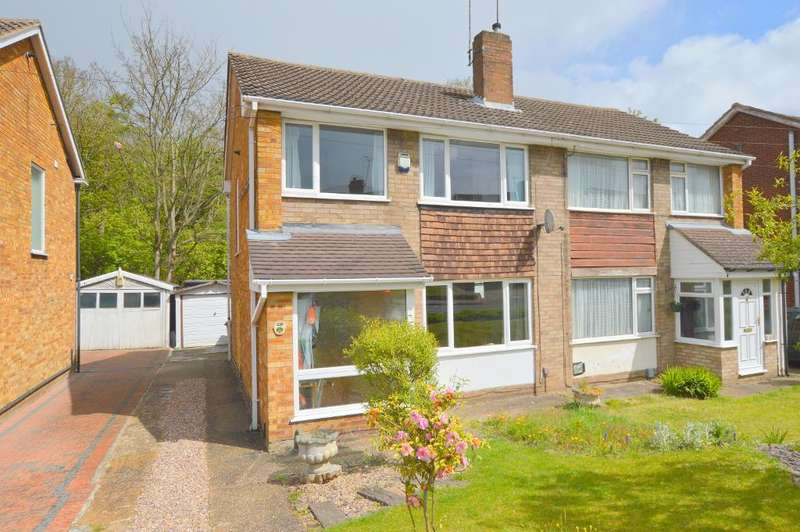 3 Bedrooms Semi Detached House for sale in Sunningdale, Round Green, Luton, LU2 7TE
