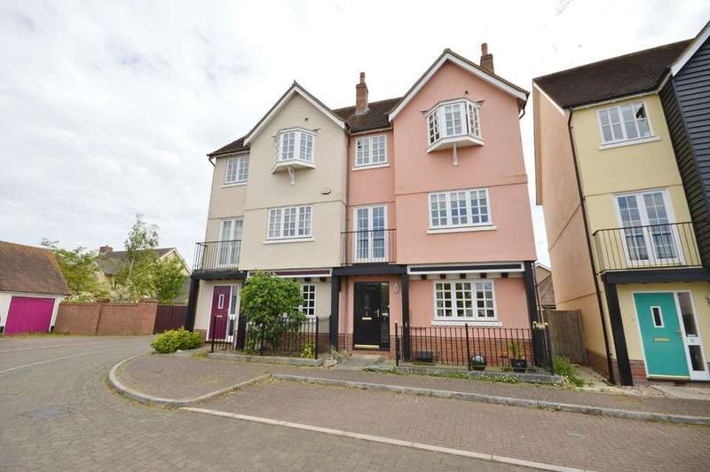 4 Bedrooms Town House for sale in Dry Dock, Wivenhoe