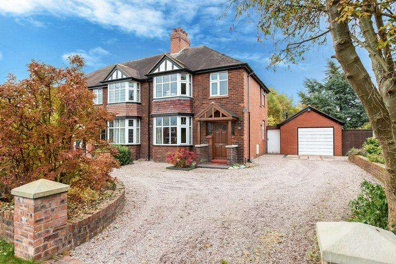 3 Bedrooms Semi Detached House for sale in Blackfirs Lane , Congleton