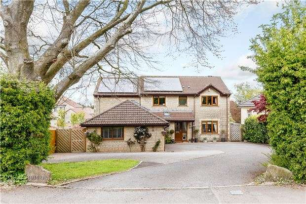 5 Bedrooms Detached House for sale in Broadway, Chilcompton, RADSTOCK, Somerset, BA3 4GT