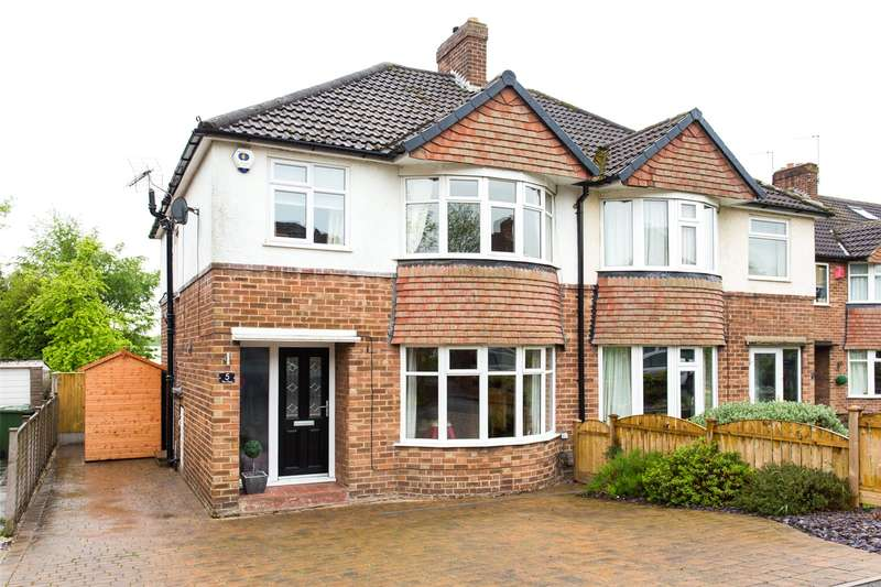3 Bedrooms Semi Detached House for sale in The Close, Alwoodley, Leeds, West Yorkshire, LS17