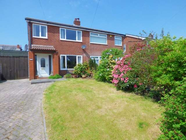 3 Bedrooms Semi Detached House for sale in Coppice Close, Chorley, PR6 0ES