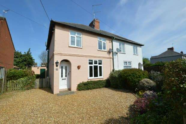 3 Bedrooms Semi Detached House for sale in Dukes Green Road , Kislingbury, Northampton