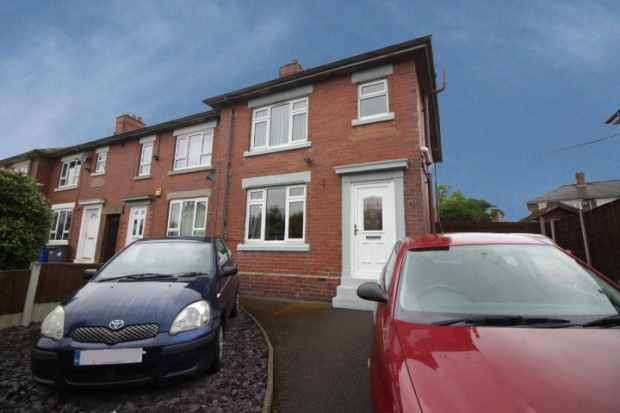 3 Bedrooms Town House for sale in Hollywall Lane, Stoke-On-Trent, Staffordshire, ST6 5PP