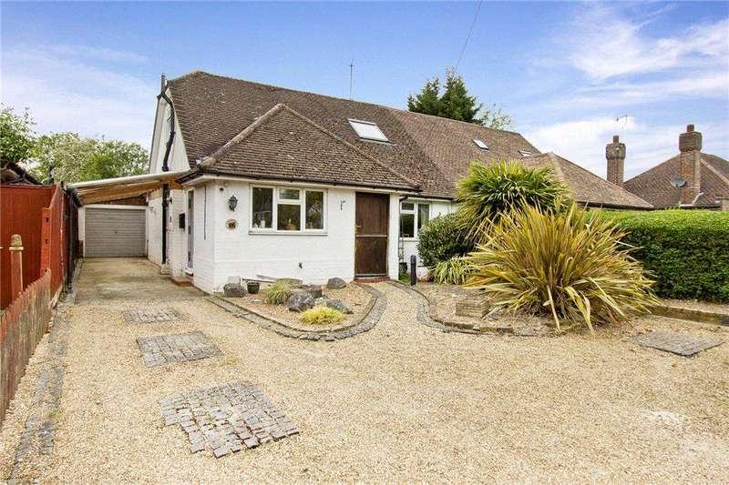 3 Bedrooms Semi Detached Bungalow for sale in Lyncote, Crouch House Road, Edenbridge, Kent