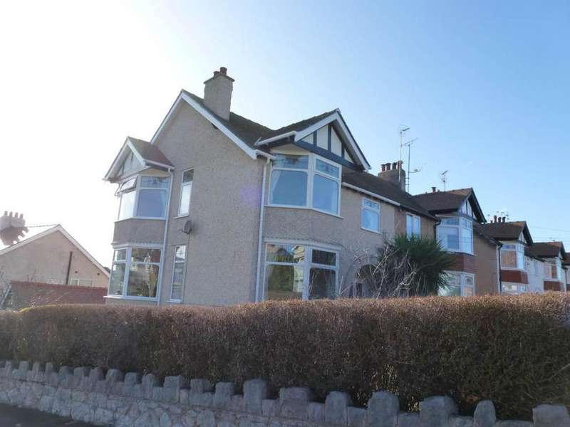 4 Bedrooms Semi Detached House for sale in 87 Abbey Road, Rhos on Sea, LL28 4PF