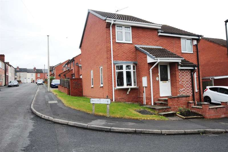 2 Bedrooms Semi Detached House for sale in Chalons Close, Ilkeston