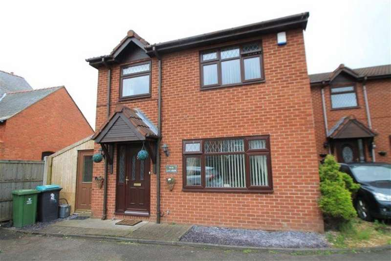 3 Bedrooms Detached House for sale in Llys Derw, Ponciau, Wrexham