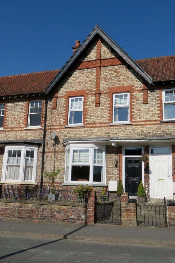 3 Bedrooms Terraced House for sale in 7 Horsemarket Road, Malton YO17 7NB