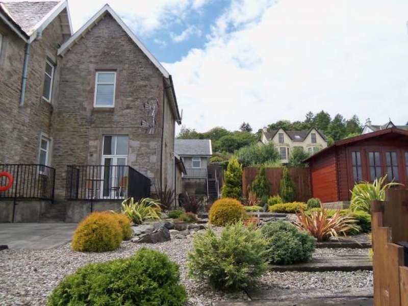 4 Bedrooms Semi Detached House for sale in Dunivard House 299 Marine Parade, Hunters Quay, Dunoon, PA23 8HN
