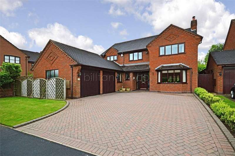 4 Bedrooms Detached House for sale in Scholars Gate, Burntwood, Staffordshire