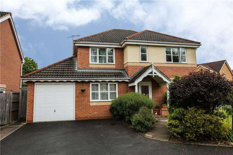 4 Bedrooms Detached House for sale in Firenze Road, The Oakalls, Bromsgrove, Worcestershire, B60