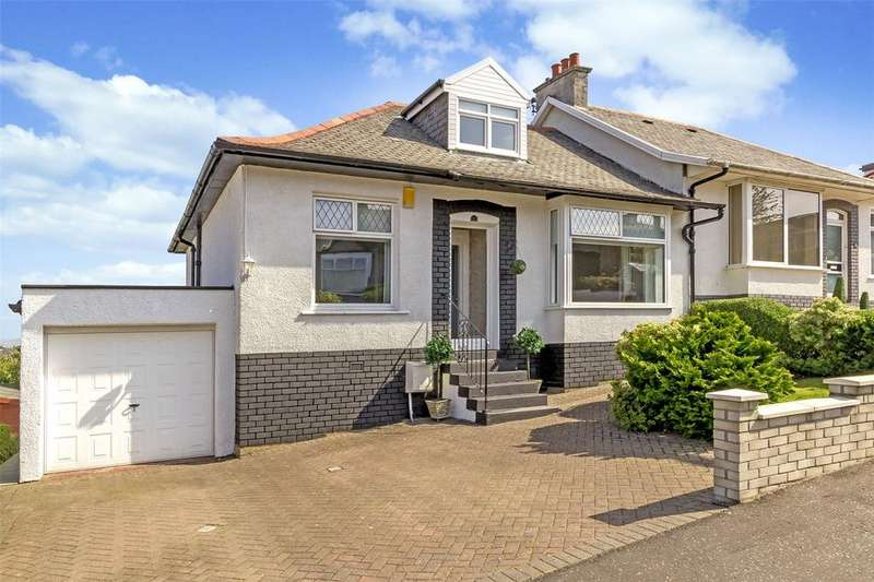 4 Bedrooms Semi Detached Bungalow for sale in 17 Merryvale Avenue, Giffnock, Glasgow, G46