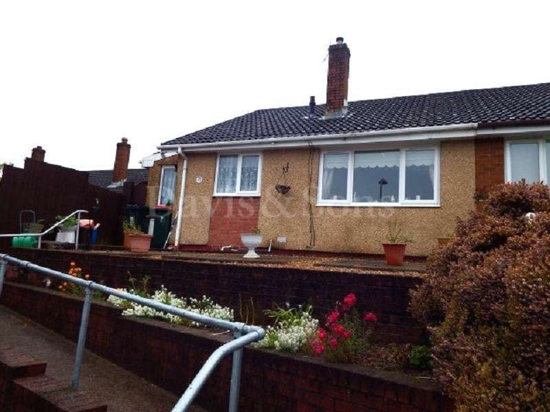 2 Bedrooms Semi Detached Bungalow for sale in Aberthaw Circle, Off Aberthaw Road, Newport. NP19 9QN