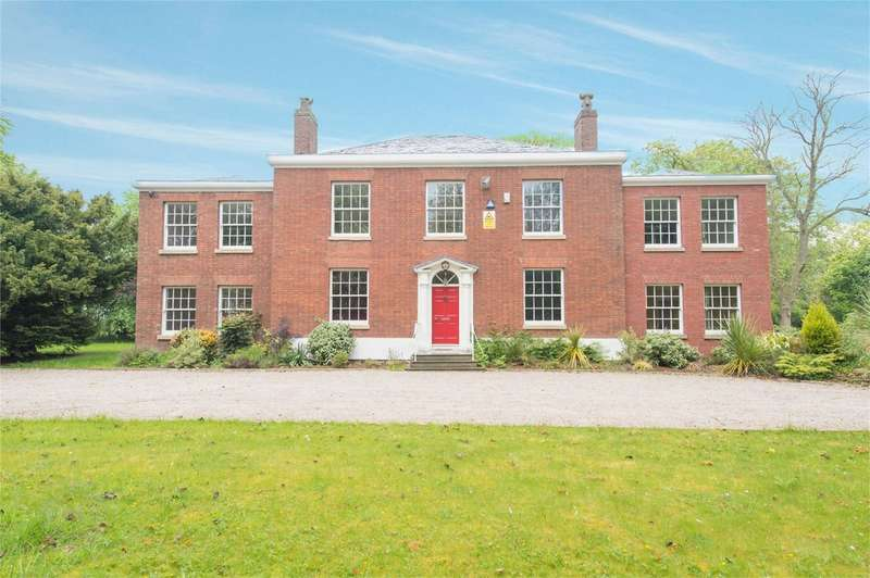 5 Bedrooms Detached House for sale in Warrington Road, Culcheth, Warrington, Cheshire