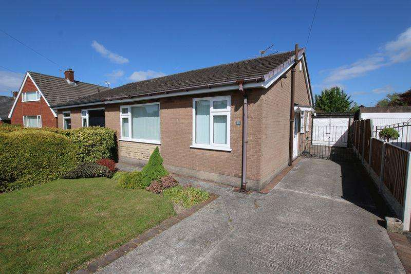 2 Bedrooms Semi Detached Bungalow for sale in Cockersand Avenue, Hutton