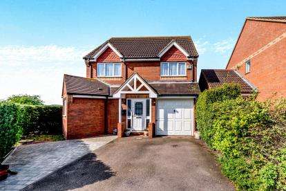 4 Bedrooms Detached House for sale in De Havilland Avenue, Shortstown, Bedford, Bedfordshire