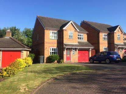 4 Bedrooms Detached House for sale in Roberts Drive, Marston Moretaine, Bedford, Bedfordshire