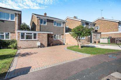 4 Bedrooms Link Detached House for sale in Redgrave Gardens, Luton, Bedfordshire