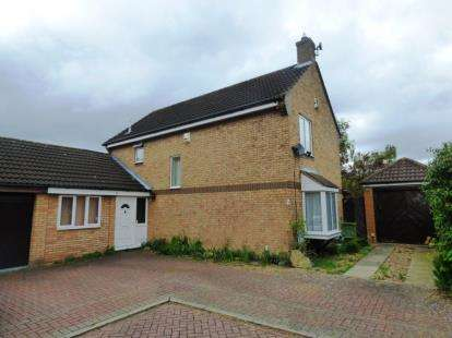 5 Bedrooms Link Detached House for sale in Booker Avenue, Bradwell Common, Milton Keynes