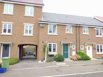 3 Bedrooms Terraced House for sale in Lundy Walk, Newton Leys, Bletchley, Milton Keynes