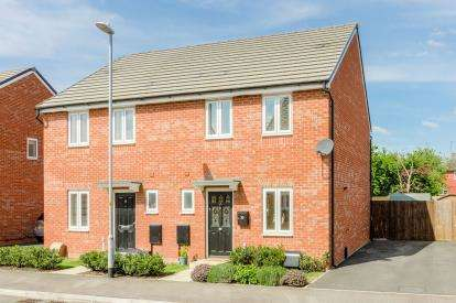 3 Bedrooms Semi Detached House for sale in Chimney Crescent, Irthlingborough, Wellingborough