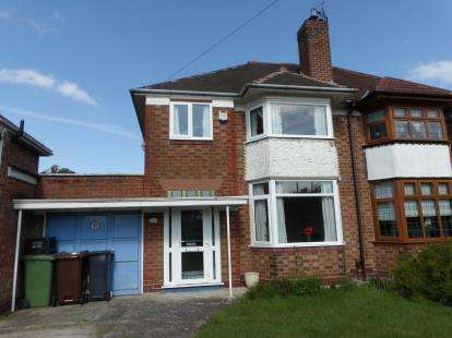 3 Bedrooms Semi Detached House for sale in Lyndon Road, Solihull, West Midlands, England