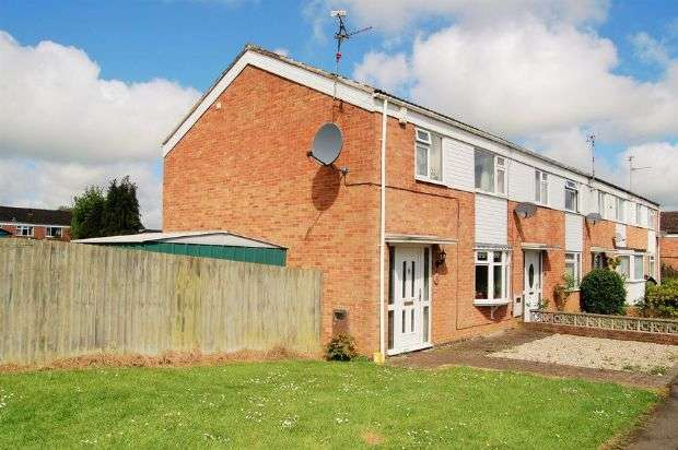 3 Bedrooms End Of Terrace House for sale in Burns Road, Daventry, Northampton NN11 9AX