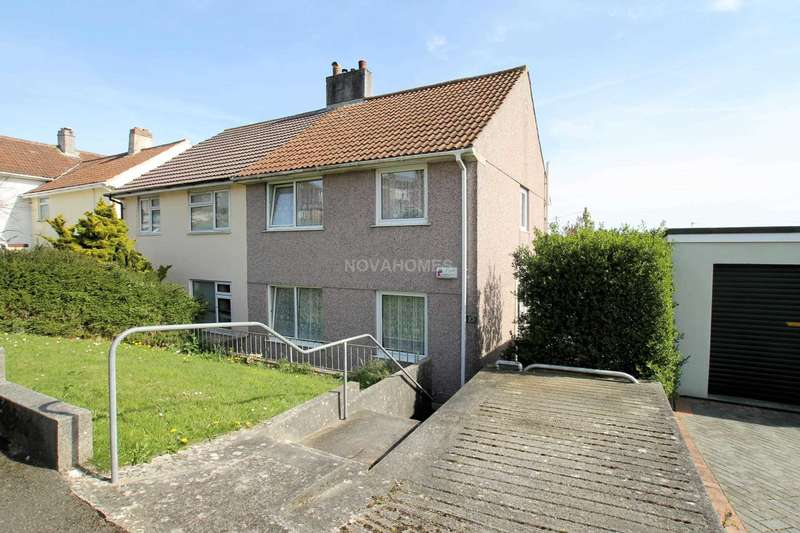 3 Bedrooms Semi Detached House for sale in Little Dock Lane, Honicknowle, PL5 2NA