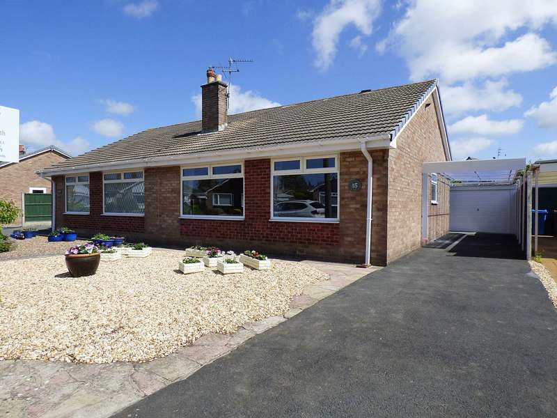 2 Bedrooms Semi Detached Bungalow for sale in Broadwood Way, Lytham Hall Park, Lytham