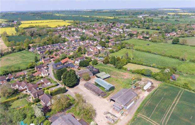 Land Commercial for sale in Town Farm, High Street, Riseley