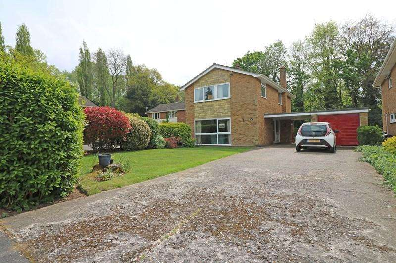 4 Bedrooms Detached House for sale in St. Johns Close, Hethersett, Norwich