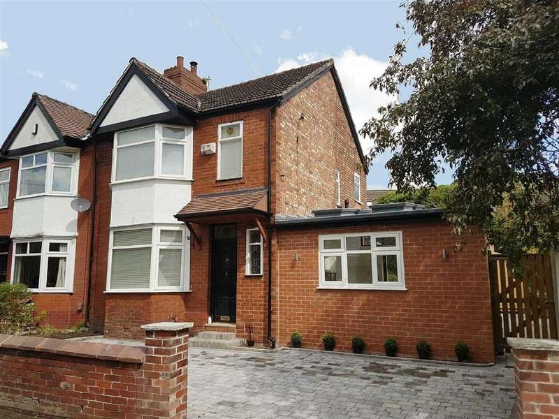 4 Bedrooms Semi Detached House for sale in Ivygreen Road, Chorlton Green