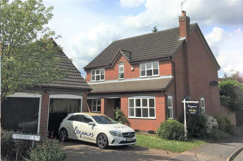 4 Bedrooms Detached House for sale in Gunnersbury Way, Nuthall, Nottingham