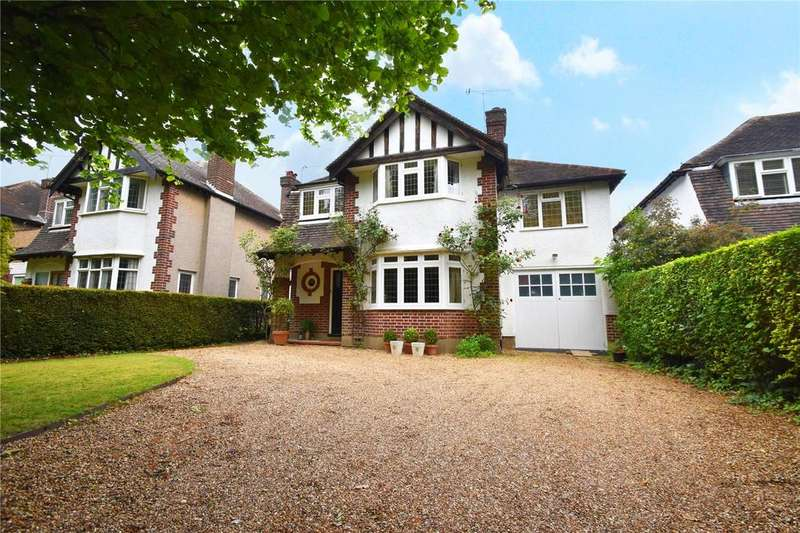 4 Bedrooms Detached House for sale in Beaumont Avenue, St. Albans, Hertfordshire