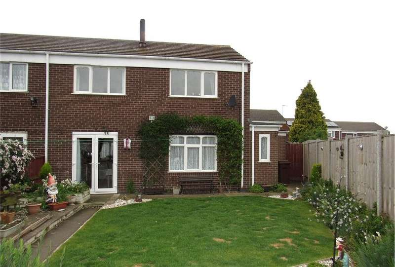 3 Bedrooms End Of Terrace House for sale in Brimington Court, Mansfield Woodhouse, Nottinghamshire, NG19
