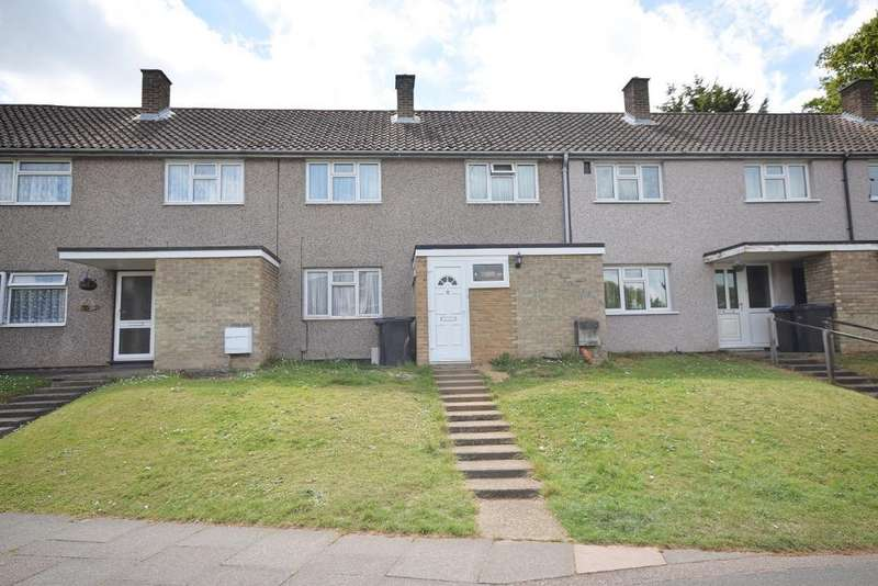 3 Bedrooms Terraced House for sale in Park Mead, Harlow, Essex, CM20 1RL