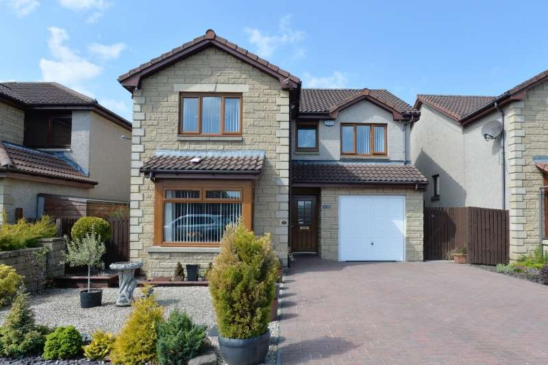 4 Bedrooms Detached House for sale in Pinewood Place, Blackburn, Bathgate, West Lothian, EH47 7NX