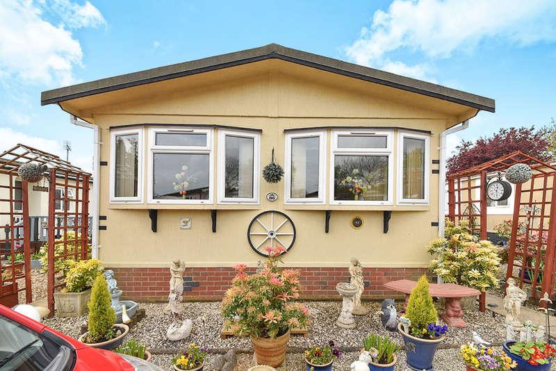 2 Bedrooms Detached Bungalow for sale in St. Christophers Park St. Christophers Road, Ellistown, Coalville, LE67