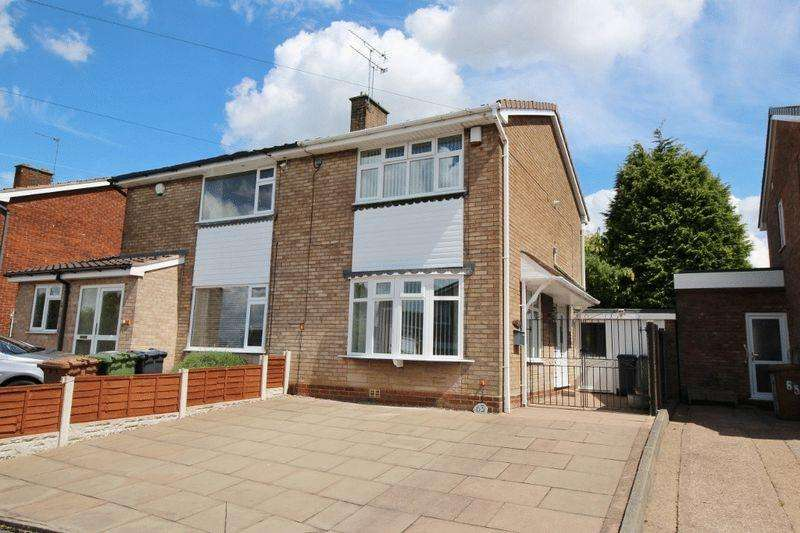 2 Bedrooms Semi Detached House for sale in Longwood Rise, Willenhall