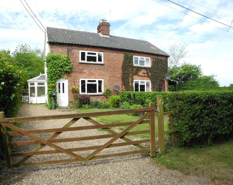 2 Bedrooms Cottage House for sale in Bungay Road, Thwaite, Bungay